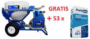 Agregat GRACO T-MAX 506 + Gips szpachlowy GS 2 Franspol